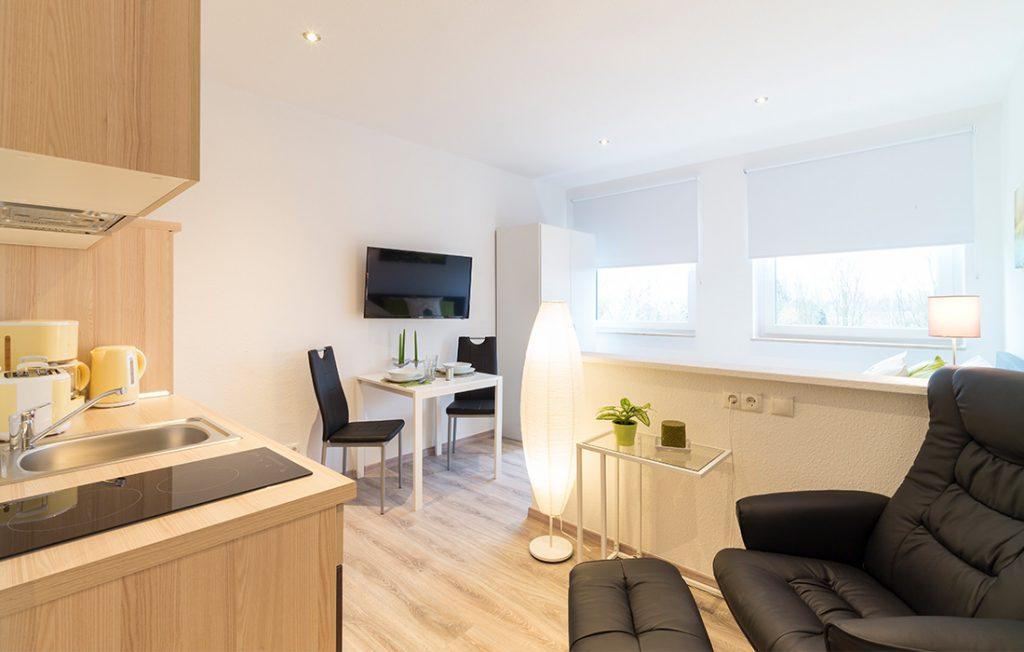 Wohnraum | Classic Boarding Apartment Waldstadt Immobilien Halle Saale Peißen